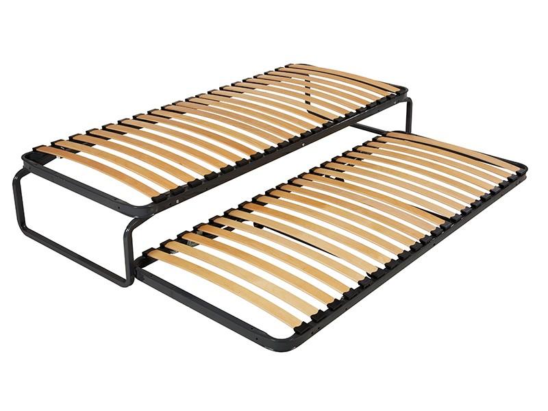 sommier ebac lit gigogne m tal avec la compagnie du lit. Black Bedroom Furniture Sets. Home Design Ideas