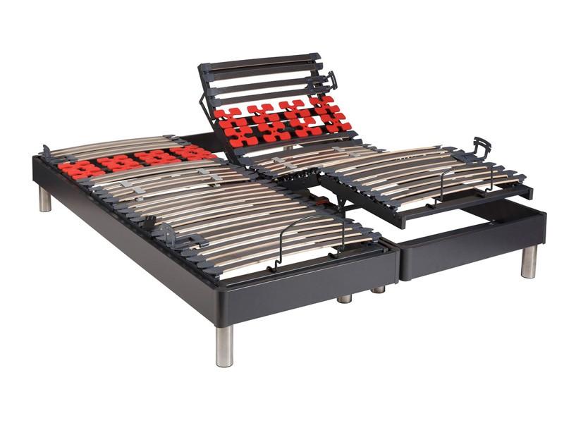 sommier la compagnie du lit confort relax 1 avec la compagnie du lit. Black Bedroom Furniture Sets. Home Design Ideas