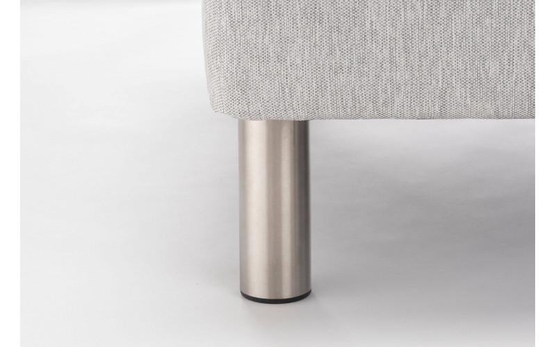 Pied Metal Cylindre Samoa 17 cm