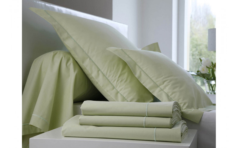 Drap Housse Percale Anis