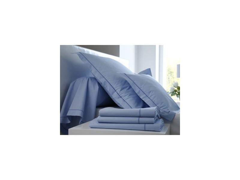 drap housse percale ciel avec la compagnie du lit. Black Bedroom Furniture Sets. Home Design Ideas