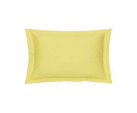 Taie oreiller Percale Citron