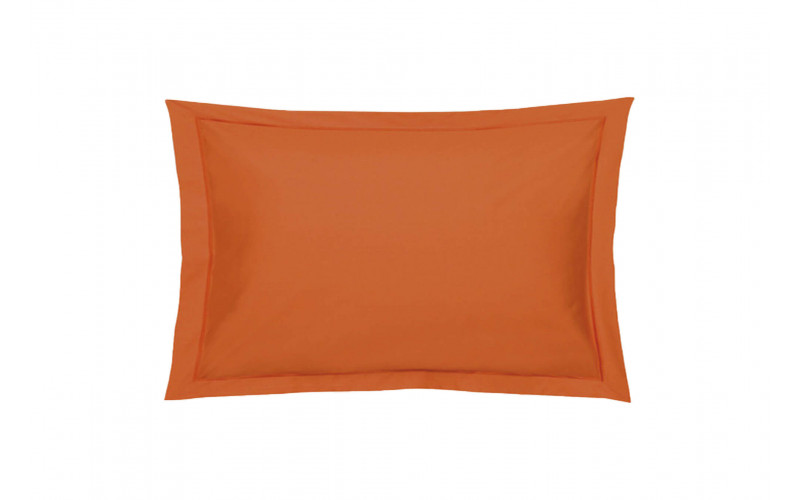 Taie oreiller Percale Paprika