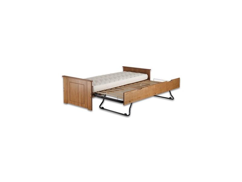 sommier ebac lit gigogne miel avec la compagnie du lit. Black Bedroom Furniture Sets. Home Design Ideas