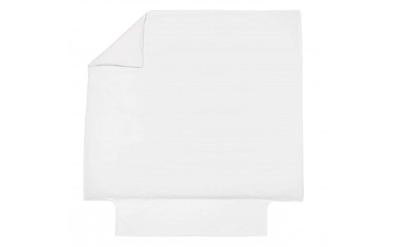Ensemble Uni Percale Blanc