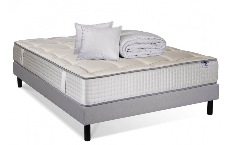 Pack Matelas Silver majesty Sommier Aigle Couette Pack Classique