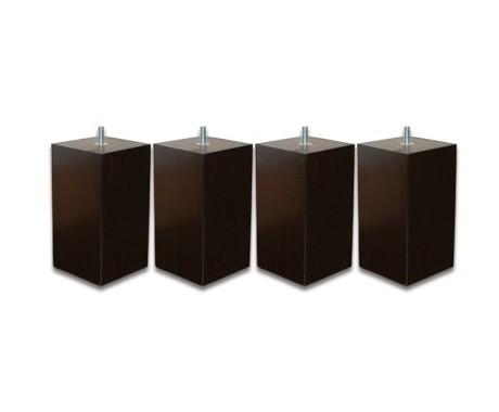 pieds pacha wenge avec la compagnie du lit. Black Bedroom Furniture Sets. Home Design Ideas