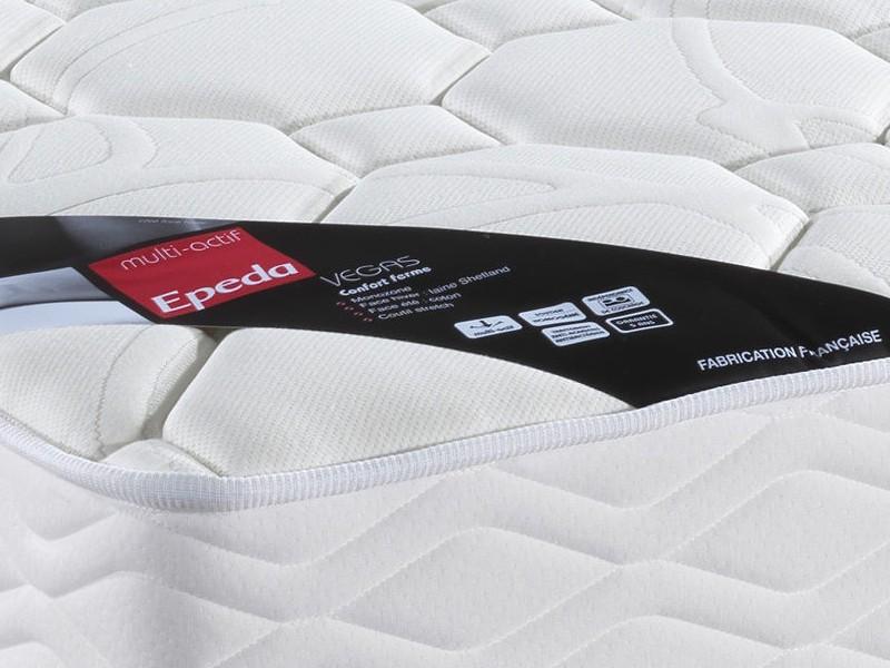 matelas epeda vegas avec la compagnie du lit. Black Bedroom Furniture Sets. Home Design Ideas