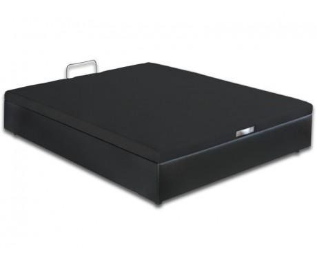 sommier bultex coffre quartz noir avec la compagnie du lit. Black Bedroom Furniture Sets. Home Design Ideas