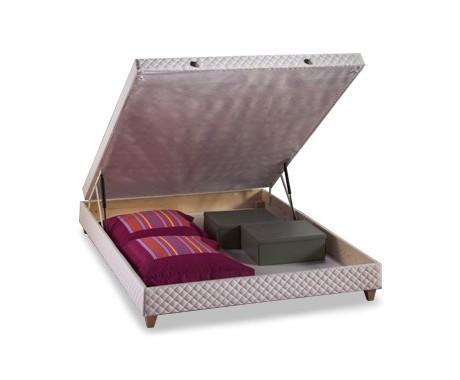 sommier dunlopillo lit coffre avec la compagnie du lit. Black Bedroom Furniture Sets. Home Design Ideas