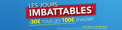 30€ par tranche de 100€