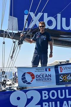 Notre skipper ingénieur Stéphane Le Diraison