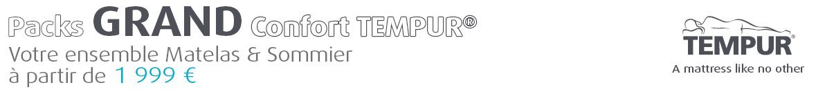 Tempur grande largeur