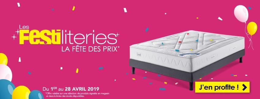 Les Festiliteries du 1er au 28 avril 2019