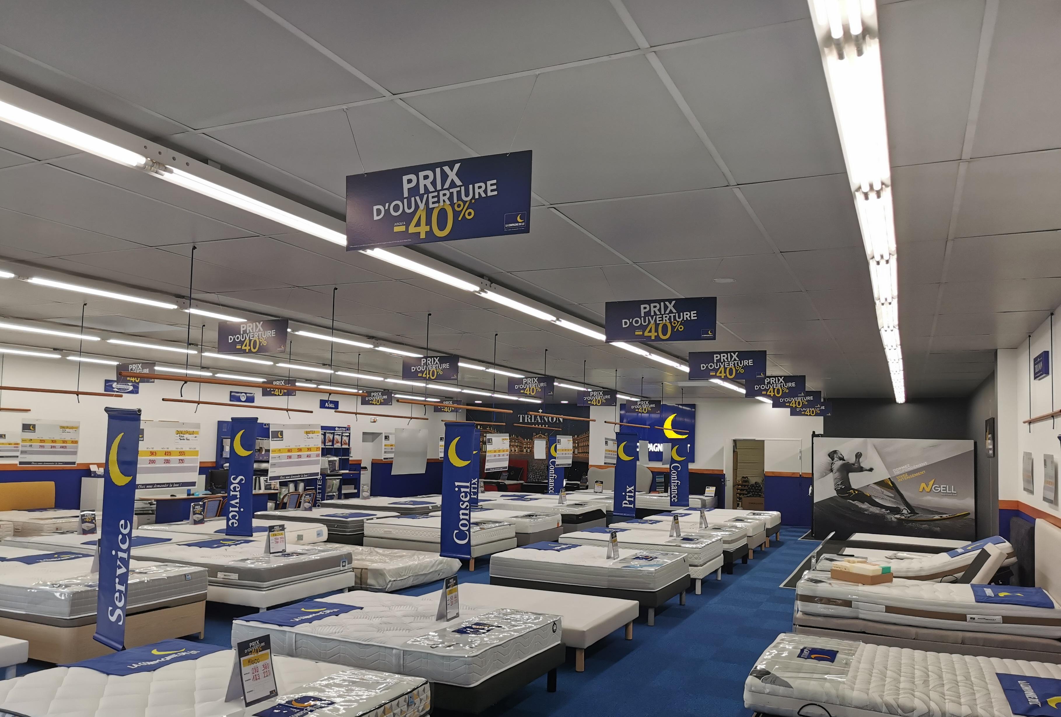 Les bons plans en cours dans votre magasin La Compagnie du Lit Pau / Lescar 3